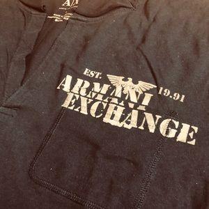 Armani Exchange Shirts - Armani Exchange long sleeve light fabric T-shirt